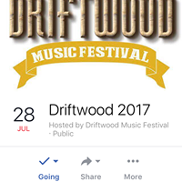 Live at The Driftwood Festival in Stokes Bay
