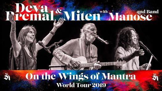 Scottsdale AZ Deva Premal & Miten with Manose