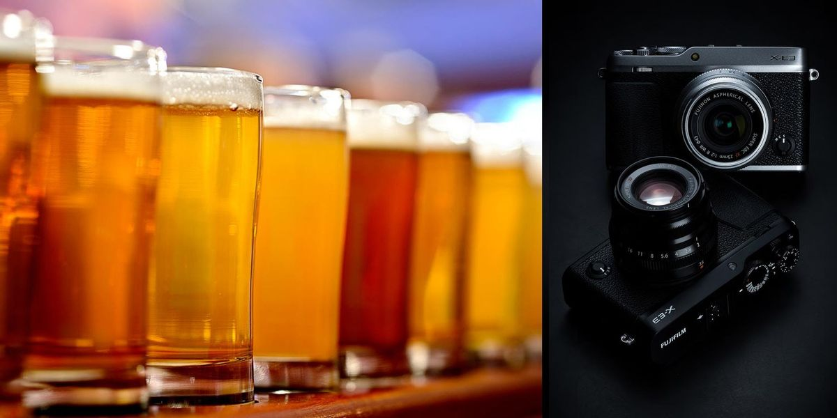 Pints & Pics with Fujifilm Interfit and Savage