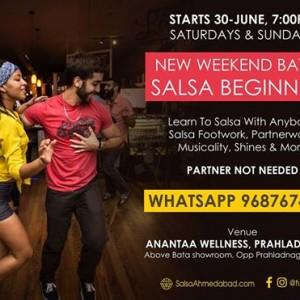 Salsa Weekends - New Beginner Batch (Free Demo)