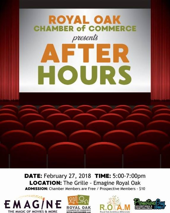 RO Chamber After Hours at Emagine Theatres, Royal Oak