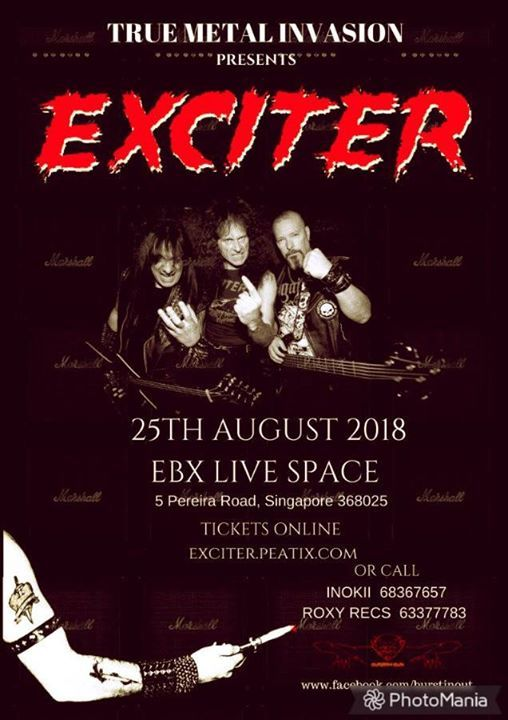 Exciter live In Spore with Ironbird/Witchseeker
