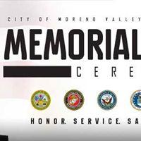 City of Moreno Valley Memorial Day Ceremony