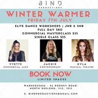 Bind Productions Winter Warmer Workshops