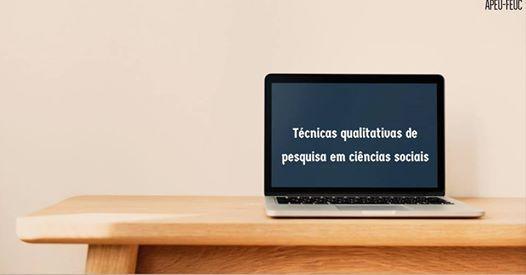 Tcnicas Qualitativas de Pesquisa em Cincias Sociais (24H)