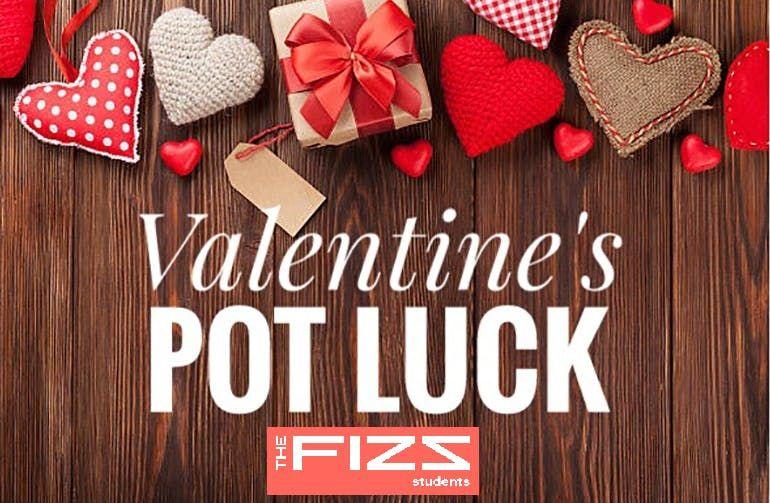 Happy Single Potluck Valentines Dinner