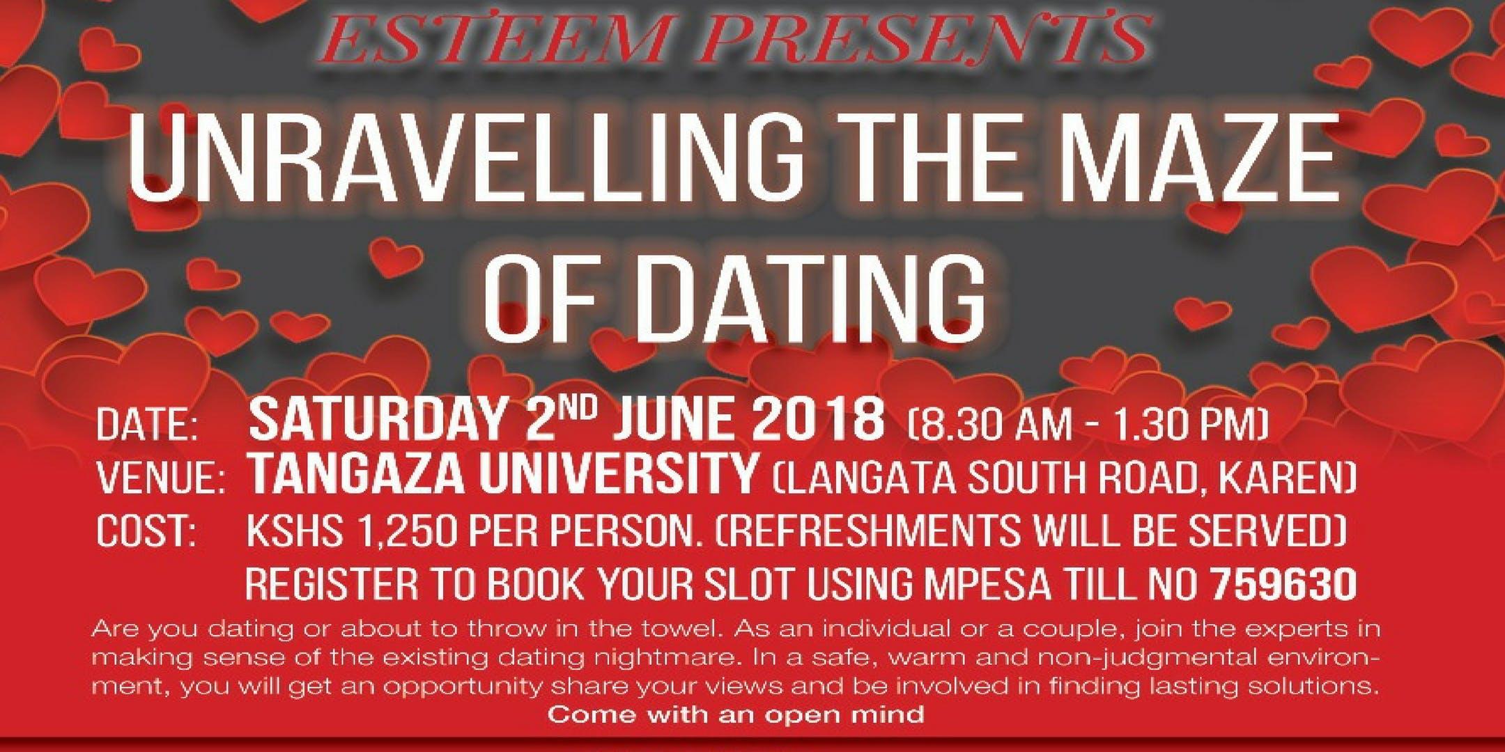 nairobi university dating site define parallel dating