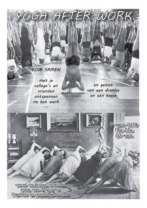 Yoga Afterwork