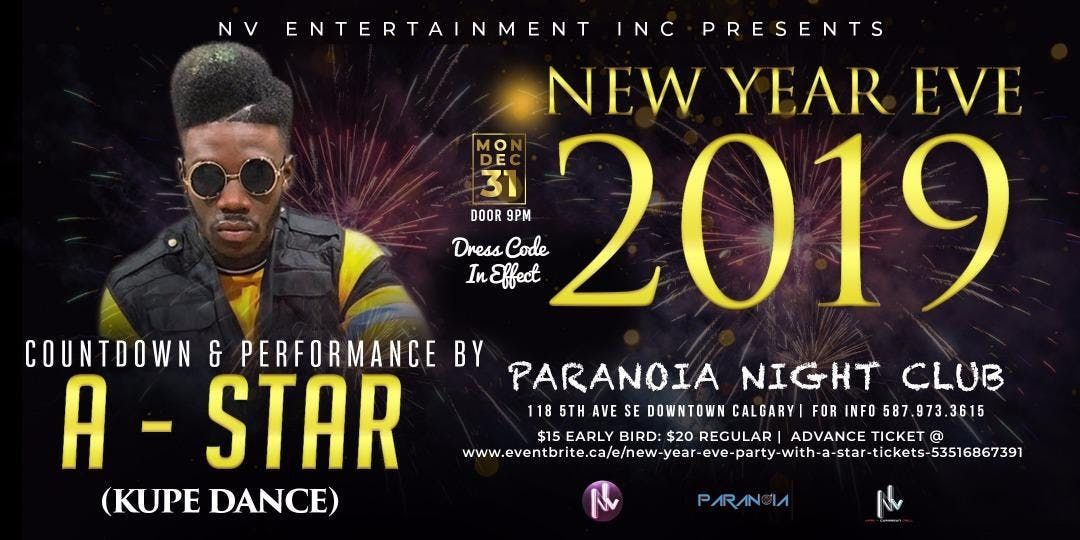 New Year Eve Party with A-STAR