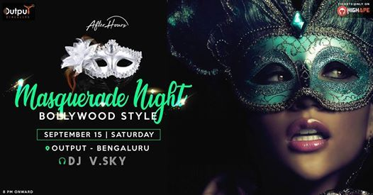 Masquerade Night - Bollywood Style