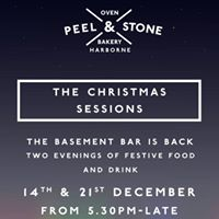 The Christmas Sessions 14th December  The Basement Bar is Back