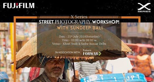 Street Photography Workshop with mentor Sundeep Bali