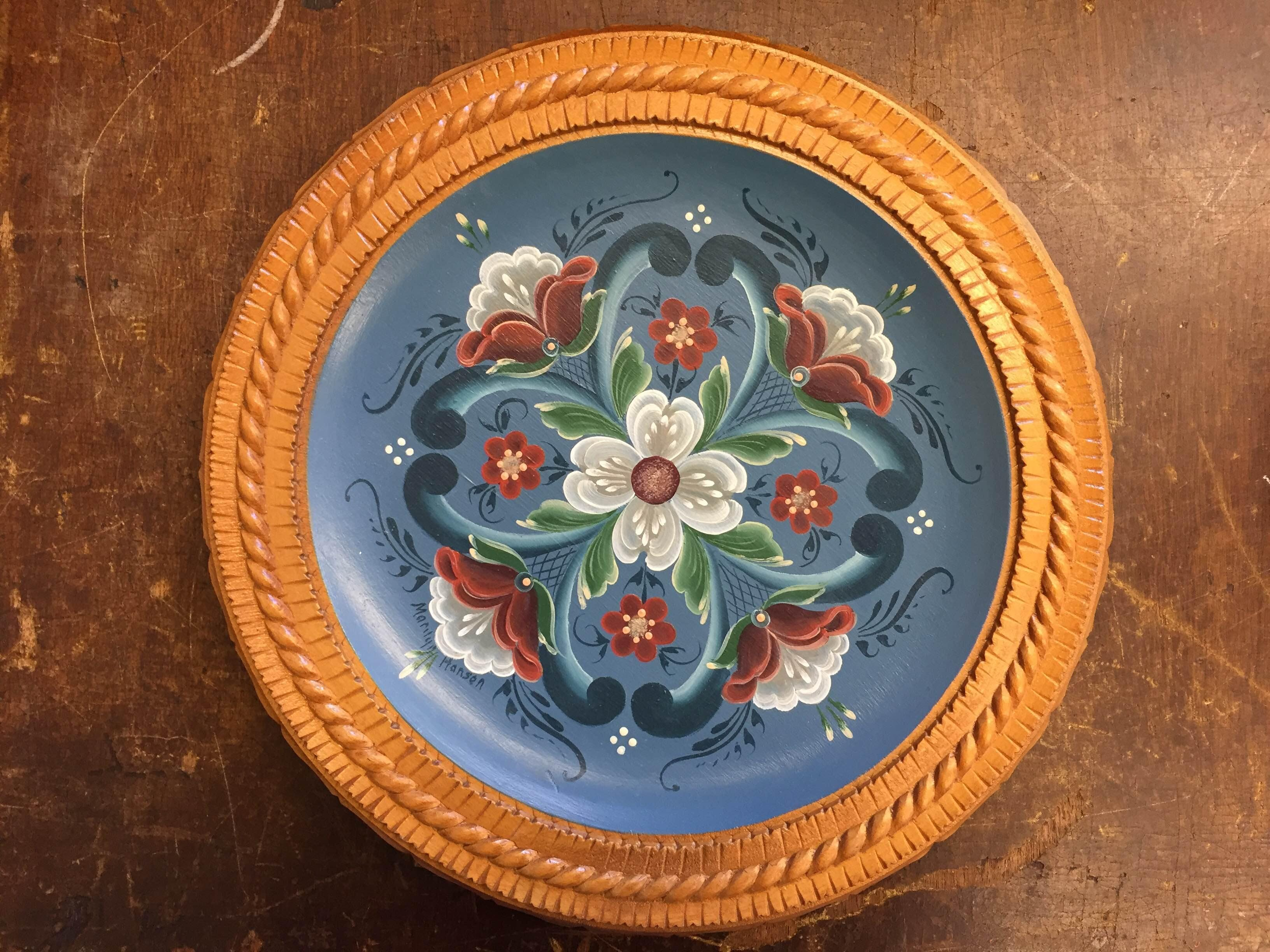 Rosemaling with Marilyn Hansen June 2018