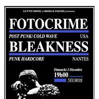 Fotocrime [Post Punk - Cold Wave  USA]  Bleakness