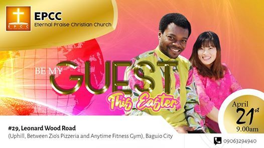 Be My Guest (This Easter)