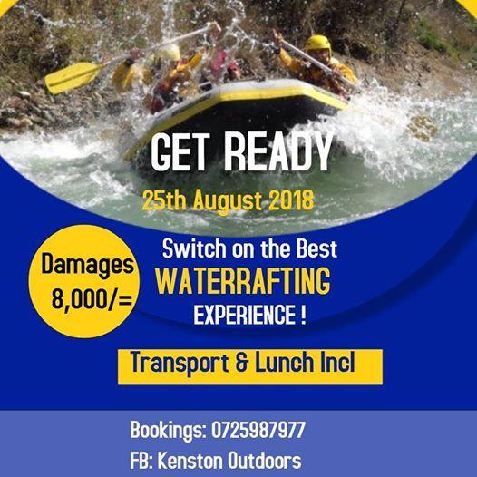 Water rafting Experience