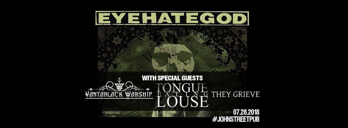 Eyehategod with special guests at The John St. Pub in Arnprior