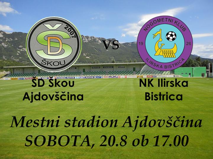 ajdovš�ina Škou vs ilirska bistrica at mestni stadion