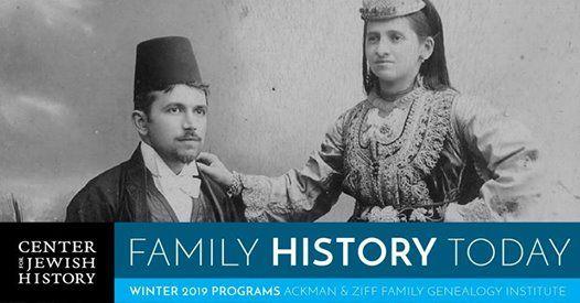 Genealogy Lecture for Sephardi and Mizrahi Families