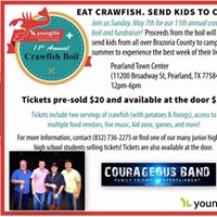 Courageous Band - LIVE - YoungLife Annual Crawfish Boil