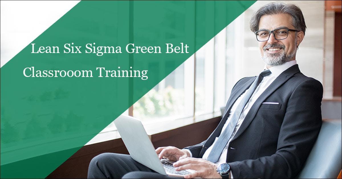 Lean Six Sigma Green Belt Classroom Training In Miami Fl Miami