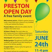 Softball Taster Session at Preston Open Day