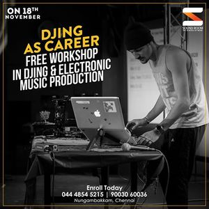 Free DJ  EMP Workshop at Soundroom - November