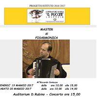 Masterclass di Fisarmonica Riccardo Centazzo