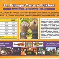 11. Erlanger Tanz-und Folkfest 2018