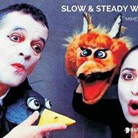 Mime Mask &amp Puppet Show ft. Laurent Decol