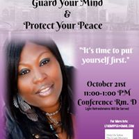 PLSG Meeting Guard Your Mind &amp Protect Your Peace