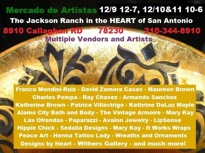 Mercado De Artistas At The Jackson Ranch In The Heart Of