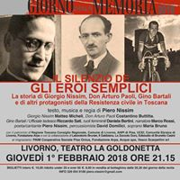 IL Silenzio degli Eroi Semplici alla Goldonetta di Livorno