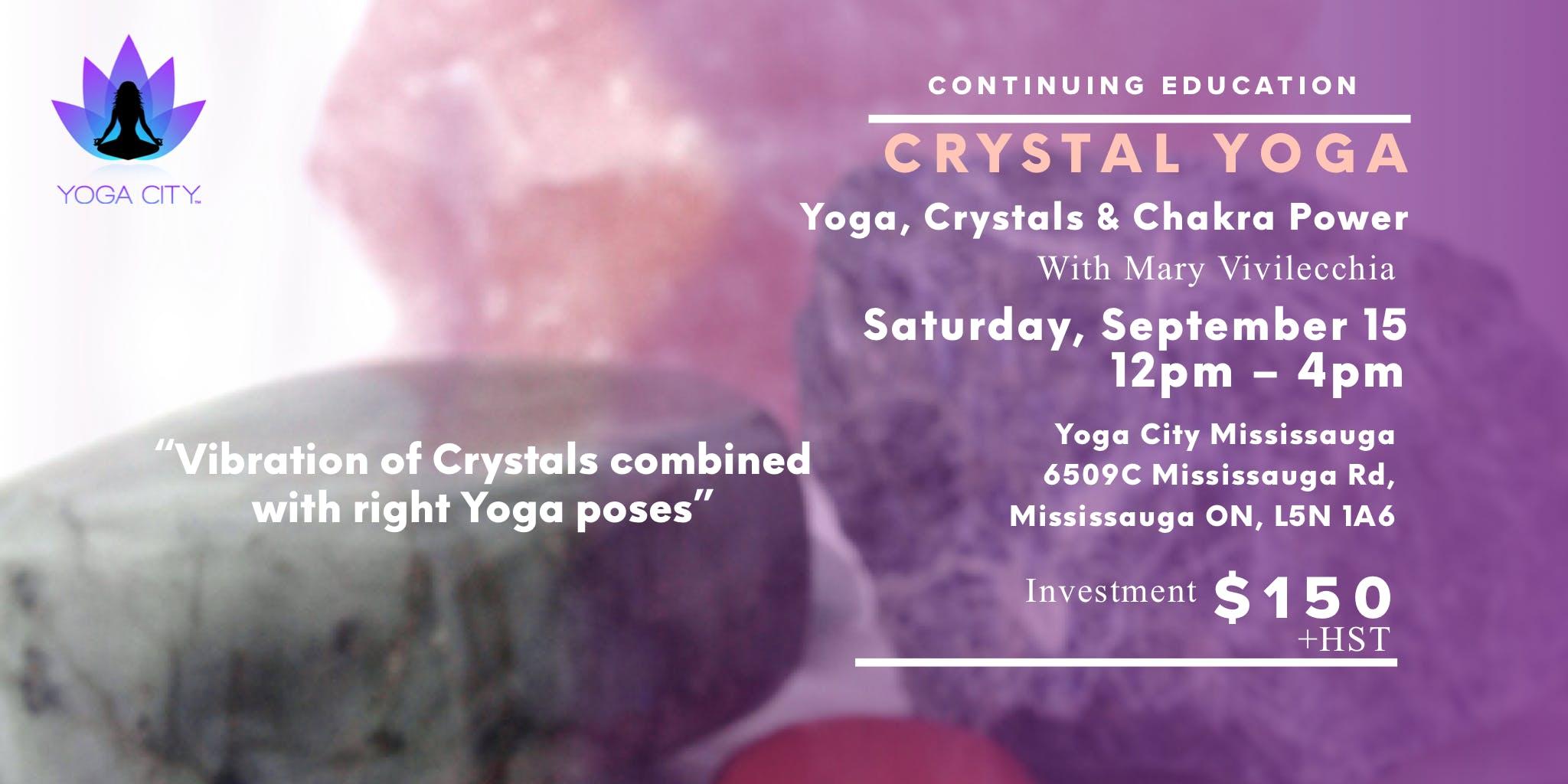 Crystal Yoga Program Yoga Crystals and Chakra Power