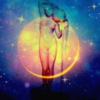 New Moon in Aquarius and Partial Solar Eclipse Ceremonial Circle