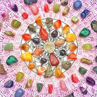 Manifest Your Intentions by Creating A Crystal Grid
