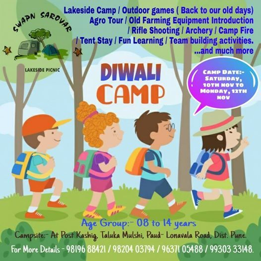 Childrens winter Camp in Diwali Vacation