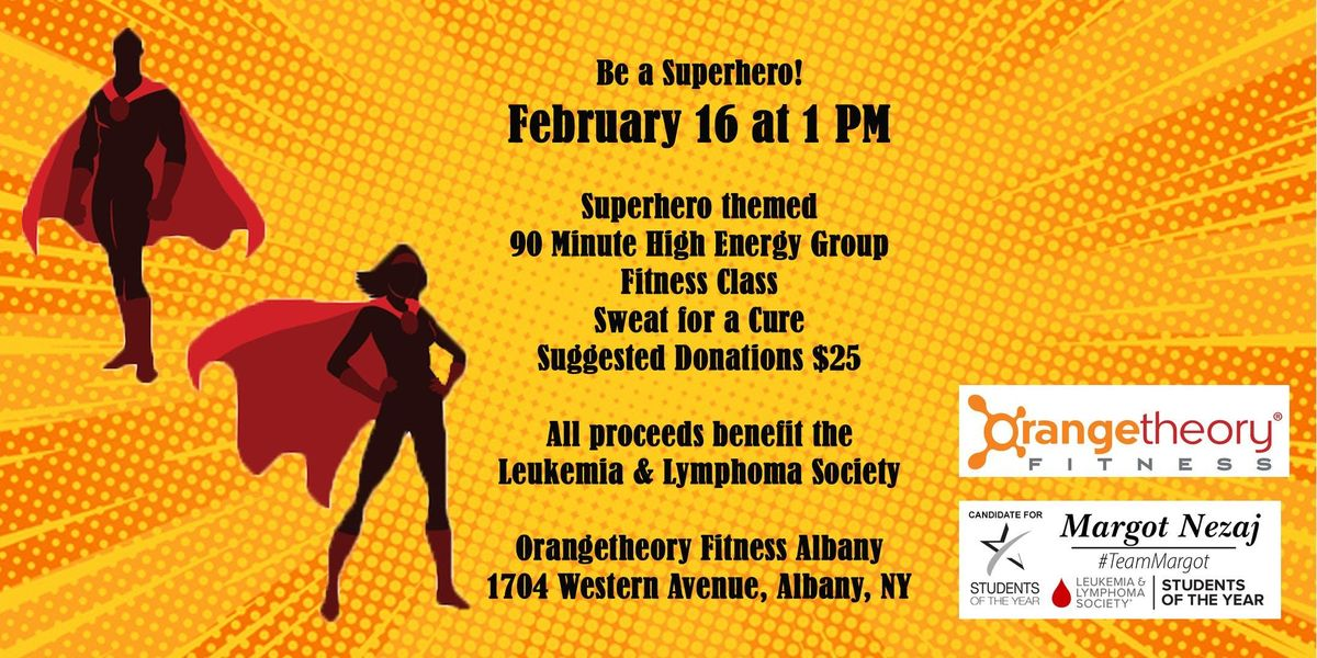 Superhero Sweat for a Cause