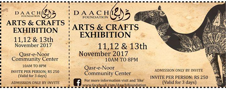 Daachi Exhibition Nov 2017