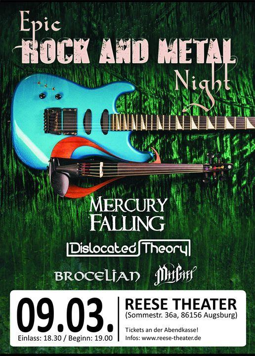 Epic ROCK & METAL Night  Reese Theater