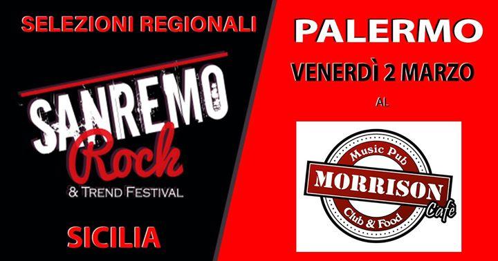 Selezioni Sanremo Rock Palermo 2 Girone
