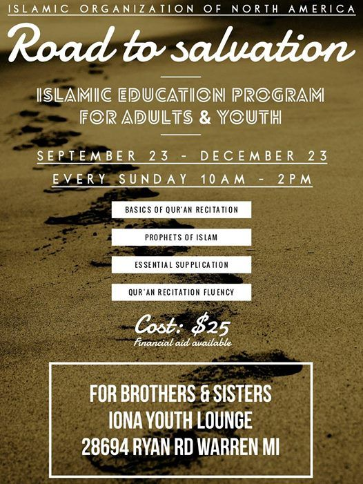 Road to Salvation - Islamic Education Program at Youth of