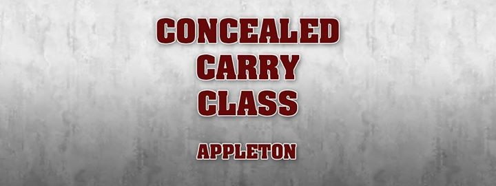Concealed Carry Class Appleton At Holiday Inn Appleton