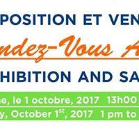 Exposition et vente Rendez-Vous Arts Exhibition and Sale