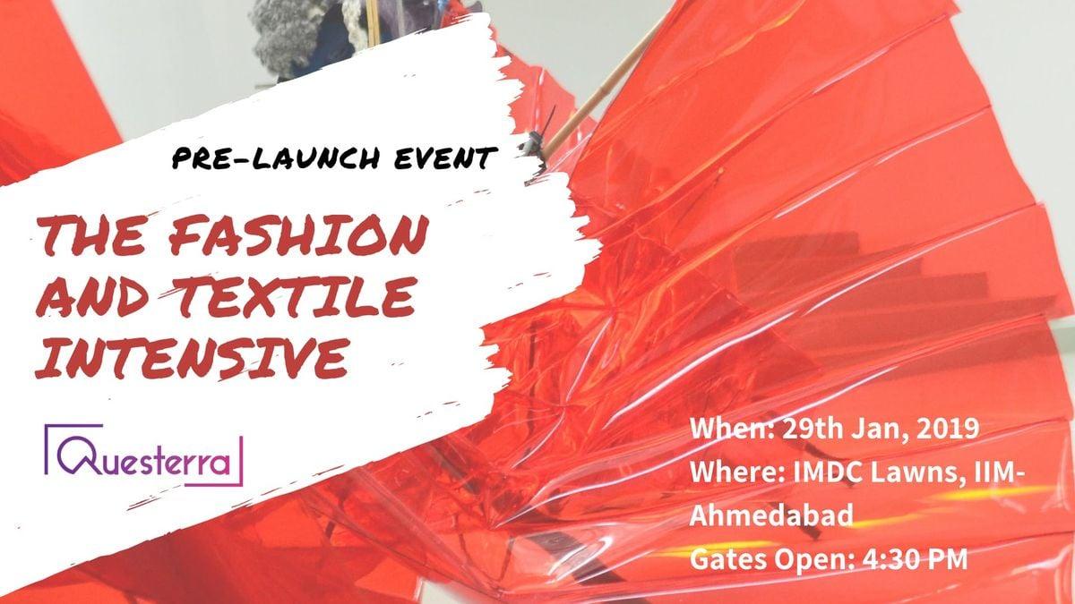 Pre Launch Info Session The Fashion & Textile Intensive