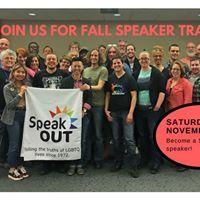 Fall Speaker Training
