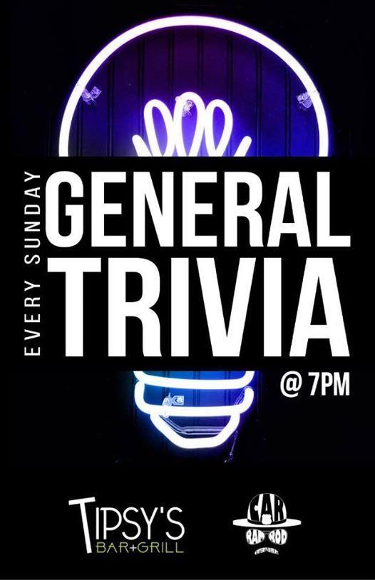 Sunday General Trivia