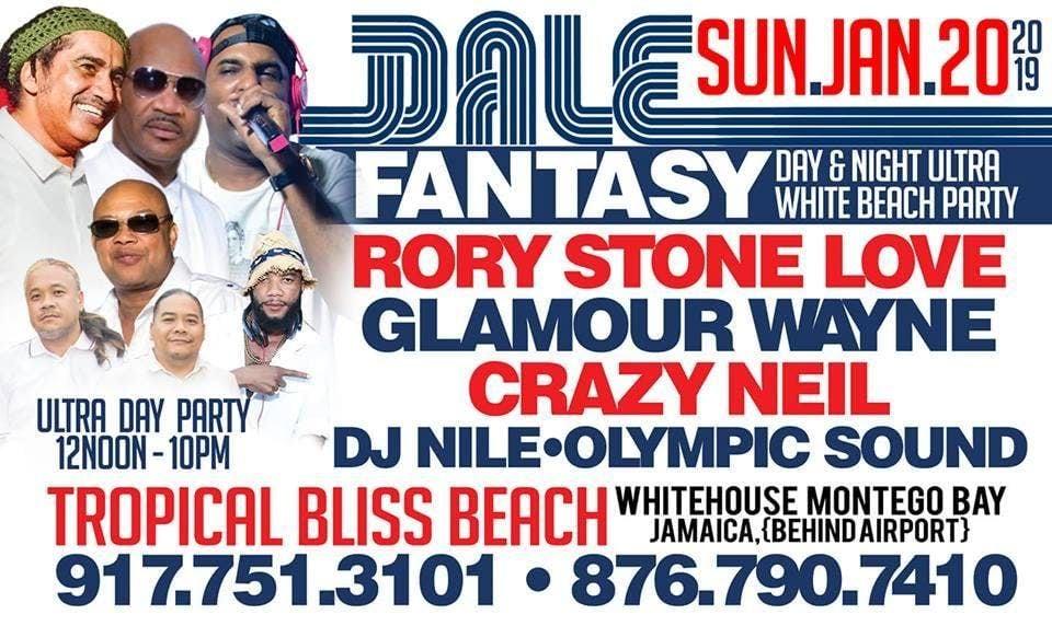 FANTASY ALL WHITE BEACH PARTY