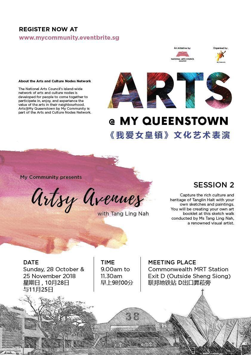 Artsy Avenues @ My Queenstown (28 October 2018) at