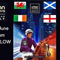 Four nations golf and race night